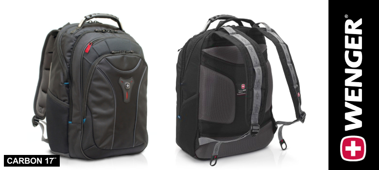 slider wenger carbon backpack