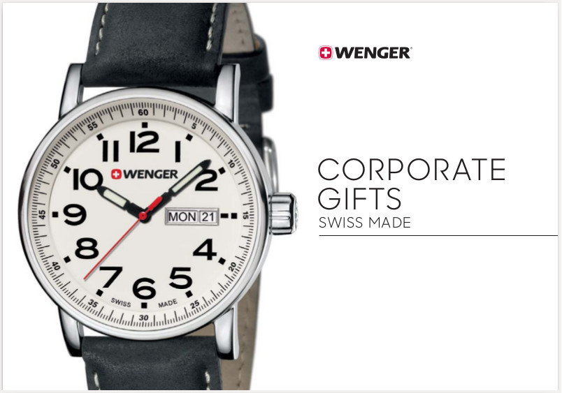 wenger watches corporate gifts